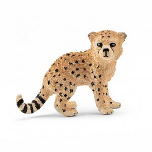Figurine bébé Guépard - Schleich - 4.5 x 2.4 x 3.6 cm