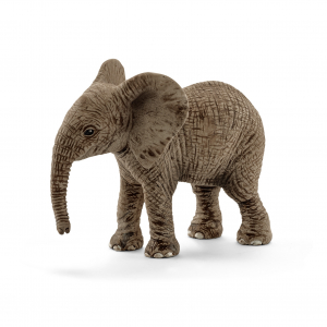 Figurine Elephanteau d'Afrique - Schleich - 6.8 x 3.5 x 5.5 cm