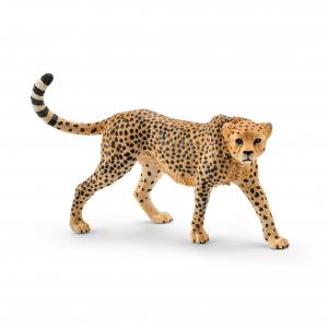 Figurine Guépard femelle - Schleich - 9.7 x 3.9 x 6.1 cm