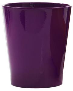 Cache pot en céramique - Horticash - prune - Ø 12,5 cm