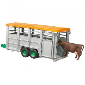Bétaillère avec vache - Bruder - 116