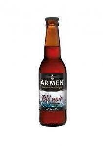 Bière Ambrée Bio au Blé Noir - AR-MEN - 5,4° - 75 cl