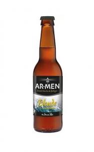 Bière blonde Bio - AR-MEN - 5° - 75 cl