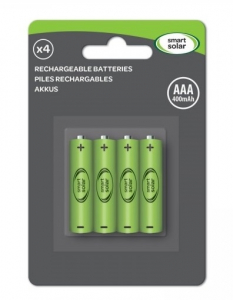 Piles x4 AAA - Smart Garden Products - 400 mAh