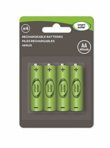Piles x4 AA - Smart Garden Products - 400 mAh