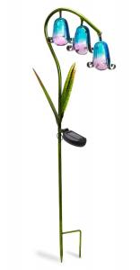 Jacinthe en verre solaire - Smart Garden Products - 85 x 22 cm