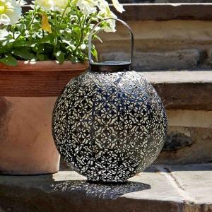 Lanterne solaire Damasque - Smart Garden Products - Ø 22 x H 23 cm