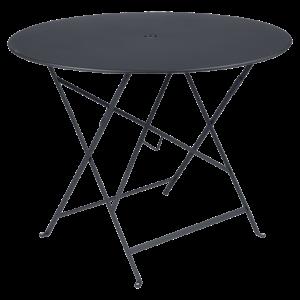 Table pliante Bistro - Fermob -  96 cm - Carbone