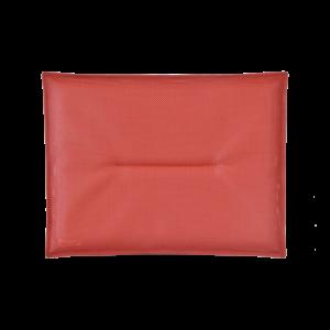 Coussin Galette chaise Bistro - Fermob - 38 x 28 cm - Piment