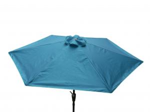Parasol rond - Pratik -  250 cm - Pétrole
