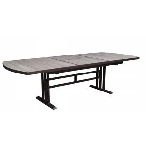 Table - Twig - HPL - Ardoise - 155/207x90