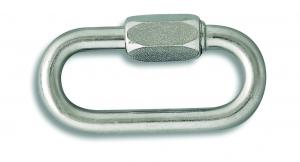 Maillon de jonction - Acier zingué - 180 Kg - Pour chaîne Ø 4 mm