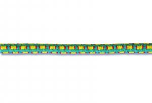 Sandow couleur - Gaine tressée - Ø 6 mm - Vente au mètre linéaire