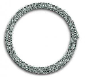 Câble de levage - Acier galvanisé - 40 kg - Ø 2 mm - Longueur 20 m