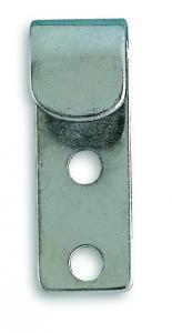 Crochet de bâche - Acier zingué - 41 x 15 mm - Lot de 2