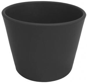 Cache pot d'intérieur - Horticash - anthracite - Ø 10.5 cm