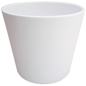 Cache pot Fresh - Horticash - blanc - Ø 16 cm