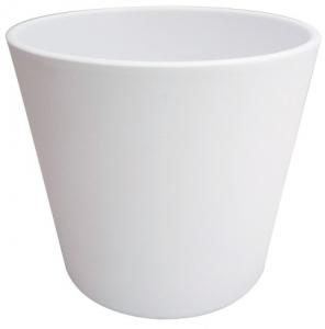 Cache pot Fresh - Horticash - blanc - Ø 20.5 cm