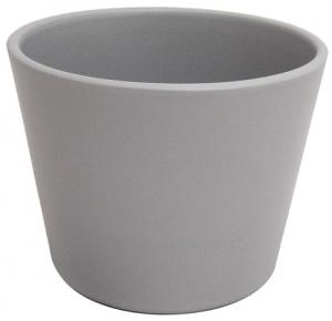 Cache pot d'intérieur - Horticash - galet - Ø 10.5 cm