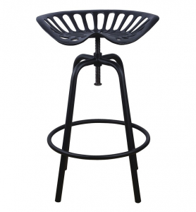Chaise haute tracteur - Esschert Design - 50 x 46,5 x 69,7 cm - Noir