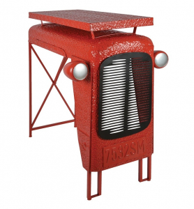 Table tracteur - Esschert Design - 4 places - Rouge