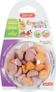 Crunchy Pearls Pomme/Carotte 45 g Zolux - Friandise pour rongeurs