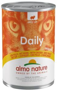 Daily mousse pour chats - Almo nature - poulet - 400 gr