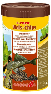 Aliment pour silures Wels-chips - Sera - 95 gr