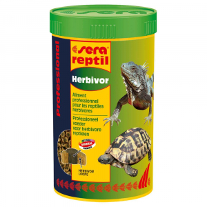 Pro herbivor nature - Sera - Pour reptiles herbivores: tortues terrestres, iguanes - Flacon de 250ml