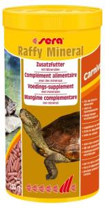Raffy minéral nature - Sera - Pour tortues aquatiques, petits reptiles carnivore - Flacon de 1L
