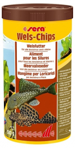 Aliment pour silures Wels-chips - Sera - 380 gr