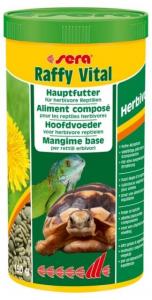 Raffy Vital nature - Sera - Pour tortues terrestres et reptiles herbivores - Flacon de 1L