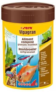 Aliment composé en granulés moelleux Vipagran - Sera - 30 gr