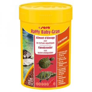 Raffy Babygran nature - Sera - Pour jeunes tortues aquatiques, petits reptiles carnivore et amphibiens - Flacon de 100ml
