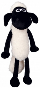Peluche Shaun le mouton - Avec son - 28 cm