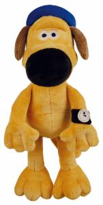 Peluche chien Bitzer - Shaun the sheep - Avec son - 26 cm
