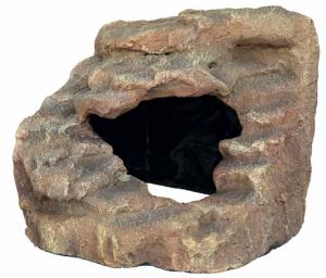 Rocher d'angle avec grotte et plateforme - Reptiland - Trixie - 21 cm