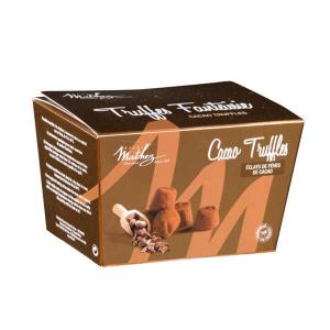 Truffes fantaisie éclats fèves de cacao- 250 g - Mathez