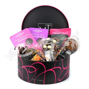 Coffret boîte ronde chocolat - Maison Taillefer - 725 gr