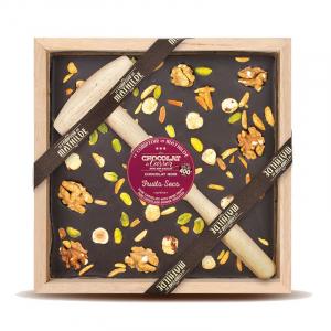 Chocolat noir Fruits secs - 400 g - Le comptoir de Mathilde