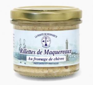 Rillettes de maquereaux au fromage de chèvre - La Pointe de Penmarc'h - 100 gr