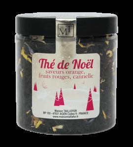 Thé noir de Noël - 60 g - Maison Taillefer