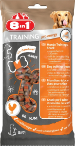 8 In 1 Training Pro Energy 100 g - Friandises éducatives pour chien