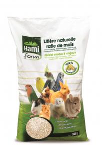 Litière naturelle rafle de maïs - Hami Form - 30 L