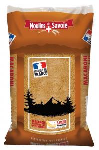 Pâtes Macaroni précuites au lait et vitamines - Moulins de Savoie - 15 kg