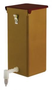 Abreuvoir pipette spécial lapins - En PVC - 8 x 8 x 18 cm - 1000 ml