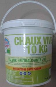CHAUX VIVE SEAU 10KG - FORCE VERTE