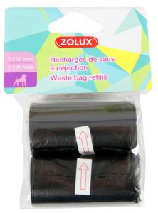 2 recharges 20 sacs à déjections - Zolux