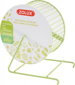 Roue en métal 14 cm pour rongeurs - Zolux