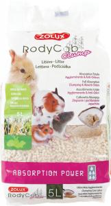 Litière végétale RodyCob Clump 5 L - Zolux